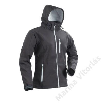 Softshell kabát csuklyával