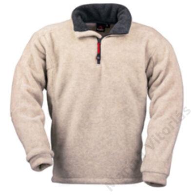 XM Polár pulóver, törtfehér