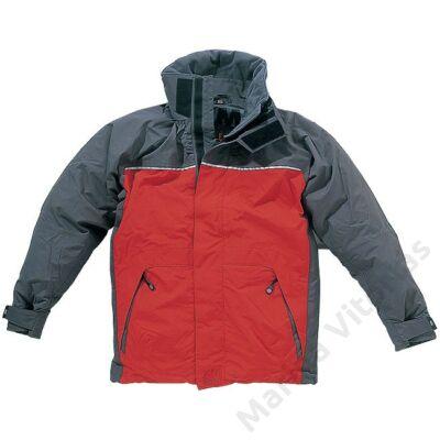 XM Coastal kabát piros-kék