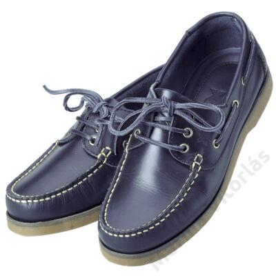 CREW férfi deckcipő navy-kék
