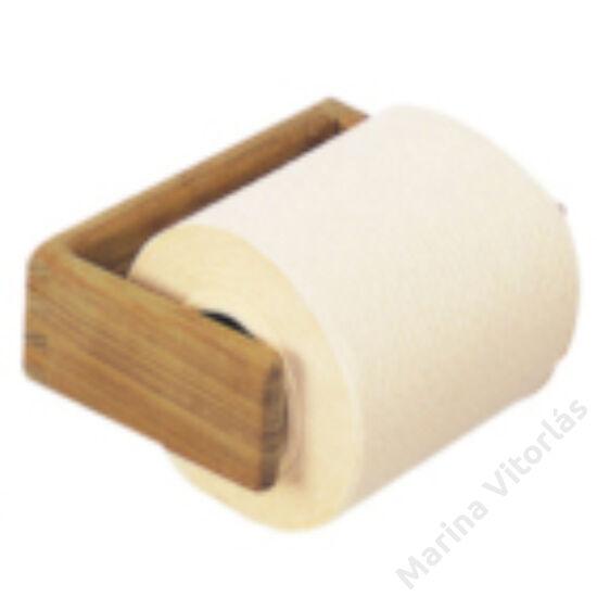 Toiletpapír-tartó, teak
