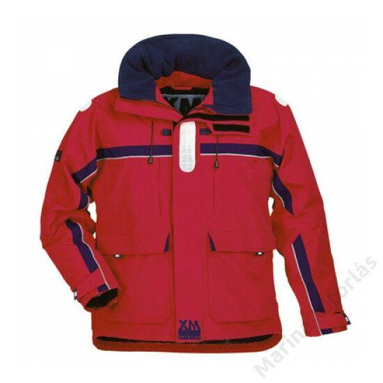XM Offshore kabát piros