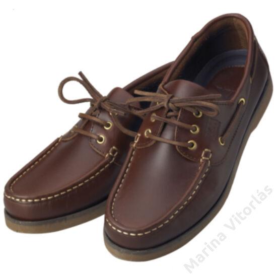 CREW férfi deckcipő, barna