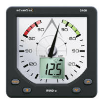 AdvanSea Wind-analóg S400 jeladóval
